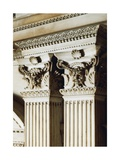 Detail from the Architectural Ornamentation of the New Sacristy Giclee Print by Michelangelo
