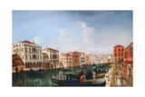 A View of the Grand Canal Giclee Print by Michele Marieschi