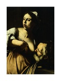 Pero Nursing Her Father Cimmone, or Visiting Prisoners, and Feeding Hungry Giclee Print by  Caravaggio