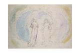 Beatrice and Dante in Gemini Giclée-Druck von William Blake