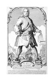 The Stature of a Great Man or an English Colossus Giclee Print by Haynes King
