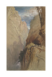 Via Mala, Switzerland, 1854 Giclee Print by Harry John Johnson