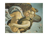 Representation of Wind, Detail from Birth of Venus, 1484 Giclee Print by Sandro Botticelli