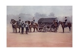 Soldiers of the Royal Army Service Corps During the Second Boer War Giclee Print by Louis Creswicke
