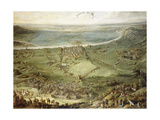 The Spanish and Imperial Troops Defeated by France and Savoy at Valenza Po Giclee Print by Peeter Snayers