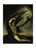 Achilles Trying to Grasp at the Shade of Patroclus, 1803 Giclee Print by Henry Fuseli