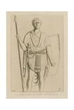 Soldier De La Ive Cohorte Dalmate Giclee-trykk av Raphael Jacquemin