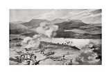 The Dublin Fusiliers Attempt to Ford the Tugela River During the Battle of Colenso Giclee Print by Louis Creswicke