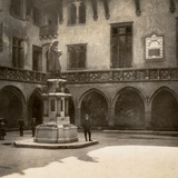Statue of Copernicus in the Courtyard of the Collegium Maius in the Jagiellonian University Photographic Print
