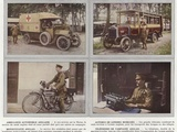 Ambulance Automobile Anglaise Photographic Print by Jules Gervais-Courtellemont
