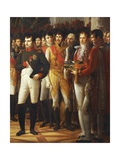 Napoleon I Receiving the Deputies of the Conservative Senate at the Royal Palace in Berlin Giclee Print by Rene Theodore Berthon