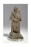 Maquette for Alfred, Lord Tennyson Seated at Trinity College, Cambridge, C.1909 Giclee Print by William Hamo Thornycroft