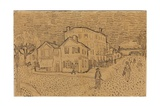 Vincent's House at Arles, from a Letter to His Brother Theo, Executed in Arles, 1888 Giclee Print by Vincent van Gogh