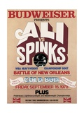 Poster Advertising the Rematch Between Muhammad Ali and Leon Spinks in New Orleans Giclee Print