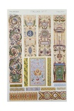 Italian Style Decoration, Plate LXXXVI from Grammar of Ornament Giclee Print by Owen Jones