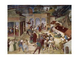 Martyrdom of Saint Barbara, Fresco Detail from Stories of Saint Barbara, 1524 Giclee Print by Lorenzo Lotto