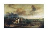 Wounding of Gustav II Adolf of Sweden at Battle of Luetzen, November 16, 1632 Giclee Print by Pieter Meulener