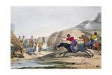 Field of Tartars Giclee Print by John Augustus Atkinson