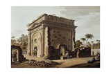 Latakia, Triumphal Arch, 1803, Engraving Taken from Views of Syria Giclee Print by Luigi Mayer