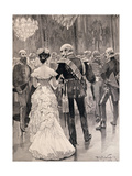 The King of Prussia at a Court Ball in 1862 Giclee Print by Richard Caton Woodville II