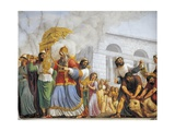 Italy, Florence, Palazzo Pitti, David Accompanies Transportation of Ark of Covenant, 1816 Giclee Print by Luigi Ademollo