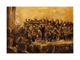 Concert in the Staatsoper Giclee Print by Max Liebermann