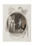 Miss Darnford Bringing to Mr B the News of the Birth of a Son Giclee Print by Richard Corbould