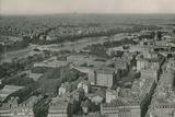 Vue Sur Les Champs-Elysees Et Le Sacre-Coeur Prise De La Tour Eiffel Photographic Print