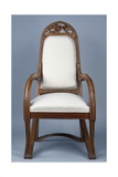 Art Nouveau Style Armchair Created for Universal Exhibition of 1900, Part of Dining Room Set Giclee Print by Louis Majorelle