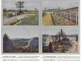 Cimetiere De Chambry, Les Tombes Des Heros, Breche D'Un Obus De 75, Rien N'Est Respecte Photographic Print by Jules Gervais-Courtellemont