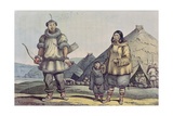 Chukchi People and their Homes, from 'Voyage Pittoresque Autour Du Monde', 1822 Giclee Print by Ludwig Choris