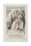 Theodosius and Constansia' Giclee Print by Richard Corbould
