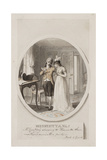 'Mr Courtney Shewing to Henrietta their Mother's Miniature Picture Giclee Print by Richard Corbould