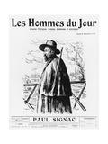 Paul Signac, Front Cover Illustration from 'Les Hommes Du Jour', No 170, Paris, 22nd April 1911 Giclee Print by Maximilien Luce