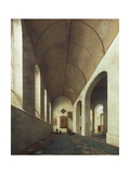 St Anthony Chapel in St John's Church in Utrecht, 1645 Giclee Print by Pieter Jansz Saenredam