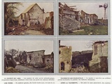 La Societe Des Amis, Villeneuve-Lez-Charleville, Une Ferme, Apres La Tourmente Photographic Print by Jules Gervais-Courtellemont