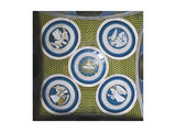 Decorative Vault with Glazed Earthenware Tondoes with the Holy Spirit in the Centre Giclee Print by Luca Della Robbia
