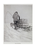 Polar Transport Giclee Print by Roald Amundsen
