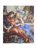 Italy, Florence, Palazzo Pitti, Stove Room in Palatine Gallery Giclee Print by Pietro da Cortona