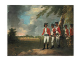 Camp of a Thousand Men Formed by Augustus Cleveland Three Miles from Bhagalpur Giclee Print by William Hodges