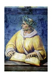 Virgil, Portrait from Illustrious People Cycle, 1499-1504 Giclee Print by Luca Signorelli