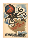 Propaganda Poster of the French Communist Party Giclee Print