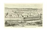Enclos Du Temple Et Mur D'Enceinte De Charles V Giclee Print