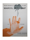 Exhibition Poster for 'Ready-Mades Et Éditions De Et Sur Marcel Duchamp' Giclee Print
