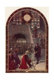 Offer of the Kingship to Richard, Duke of Gloucester, at Baynard's Castle, London, 26 June 1483 Giclee Print by Sigismund Christian Hubert Goetze