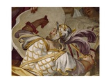 Antenor's Victory over Valesio, King of Illyrians, Episode of Myth of Antenor, 1650 Giclee Print by Luca Ferrari
