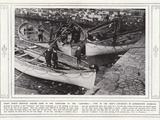 Craft Which Brought Ashore Some of the Survivors of the Lusitania Photographic Print