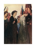 And Beauty Making Beautiful Old Rhyme, in Praise of Ladies Dead and Lovely Knights Giclee Print by Robert Anning Bell