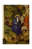 Flight into Egypt, Detail from Right Panel of Champmol Altar Giclee Print by Melchior Broederlam