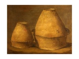 Two Bronze Age Urns, Excavated from Barrows at Winterslow, Wiltshire, 1814 Giclee Print by Thomas Robert Guest